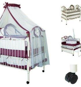 Кроватка детская в отличном состоянии