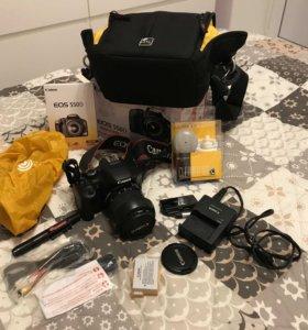 Зеркальная фотокамера Canon EOS 550D Kit