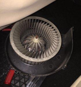 Мотор печки фольксваген поло