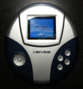 IRiver iMP-1100 плейер для дисков, MP3 и видео