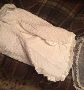 Конверт на выписку+одеяло