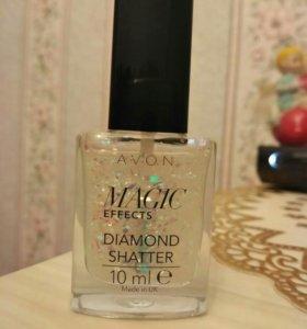 Декоративное покрытие для ногтей Блеск алмаза AVON