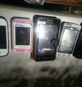 Телефоны сенсорные
