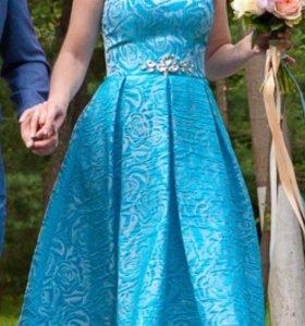 Свадебное платье (на выпускной) «Pauline»