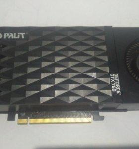 Продам видеокарту palit geforce gtx 760