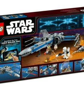 Lego STAR WARS 75149 открытый но новый