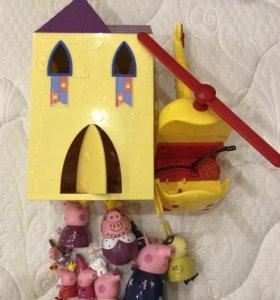 Замок Свинки Пеппы