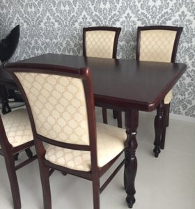 Комплект стол со стульями