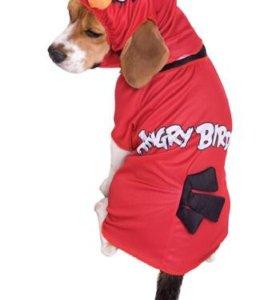 Новый новогодний костюм для собаки Angry Birds