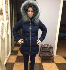 Пальто зимнее куртка зимняя