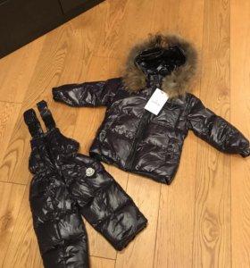 Полукомбинезон + куртка Moncler новый!