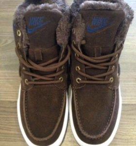 Зимние кеды Nike новые