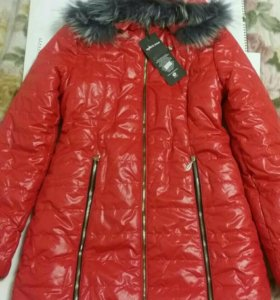 Новая зимняя куртка.