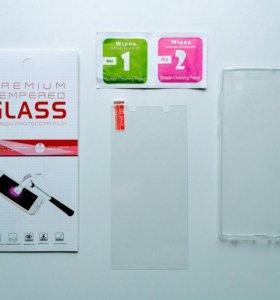 На Sony xperia L1 защитные стекла и чехлы