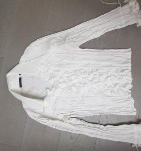Блузка женская белая
