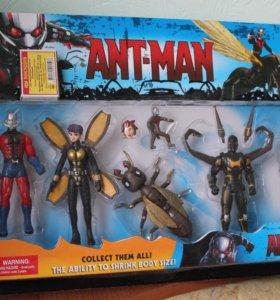 Набор Ant-Man (человек-муравей). Все персонажи