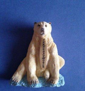Магнит медведь новый