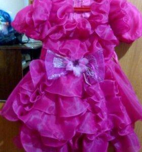 Платье детское праздничное.
