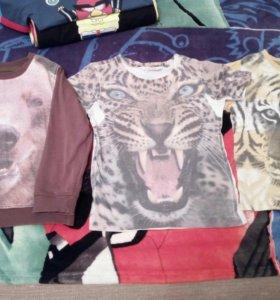 Кофта и футболки мазекея