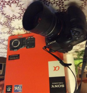 Sony a77 с объективом Sony 35F18 портретник