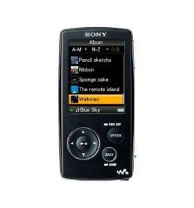 Mp3 плеер Sony NW-A806 с наушниками
