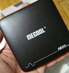 TV Box Mecool M 8 S Pro W ,2/16 Гб, 4К