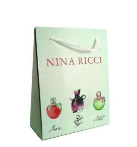 NINA RICCI eau de toilette 3x15ml
