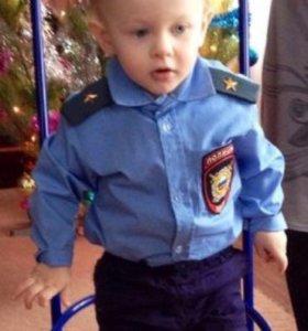 Полицейская Детская рубашка