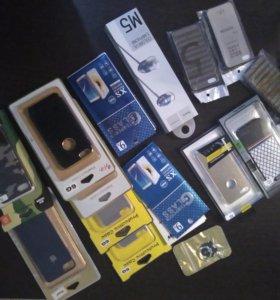 Продается наушники чехол для айфон 7 и другие аксе