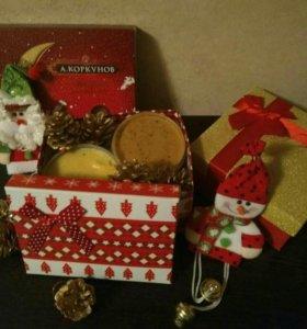Крем-мед в подарочной упаковке