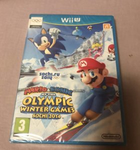 Mario Sonic at the Sochi 2014 Olympic Games Wii U
