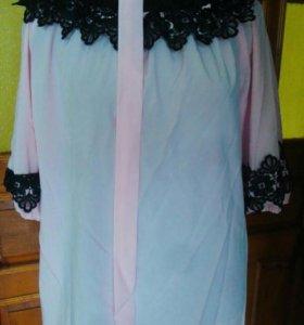 Новая блузка большого размера 54-56