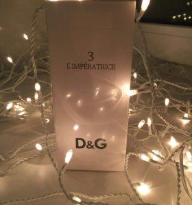 D&G 3 L'lmperatrice Духи Парфюм