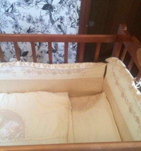 Детская люлька -кровать