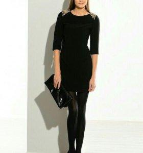 (S)KIRA PLASTININA Женское платье чёрное.