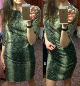 Платье рептиль