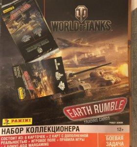 World of Tanks. Earth Rumble. Panini.