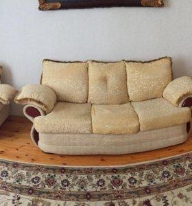 Мягкая мебель тройка с Раскладушкой
