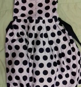 Платье  для девочки 8 лет