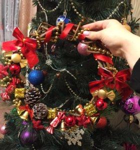 Рождественский веточек