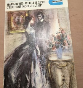 И.С.Тургенев накануне,отцы и дети,степной король..