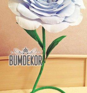 Роза для декора