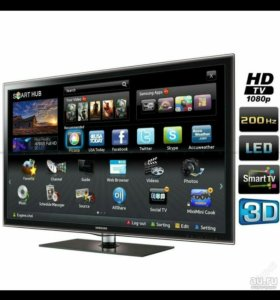 Телевизор LED Samsung UE40D6100SW 3D Smart TV 40""