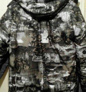 Новая зимняя куртка 48-50