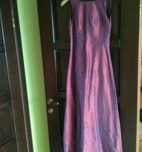 Платье S хамелеон в пол