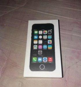 5s IPhone коробка