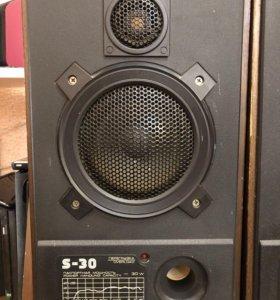 Акустика ,усилок ,тюнер -радиотехника S30