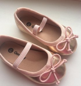 Туфельки 19 размер