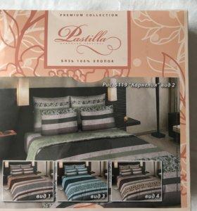 Комплект бязевого постельного белья 1,5 спальный