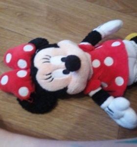 Минни Маус Привет мягкая игрушка